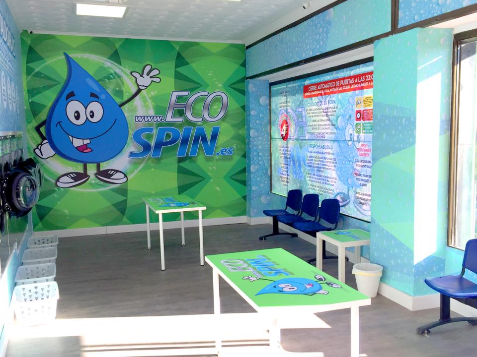 EcoSpin, Lavandería Autoservicio San Jose Artesano